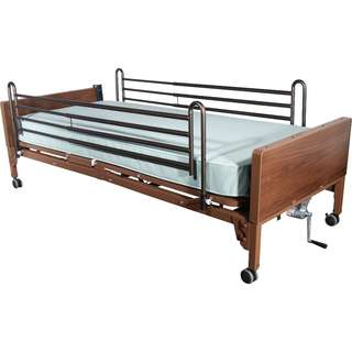 Delta Ultra Light Full Electric Bed, plus Rails and Mattress