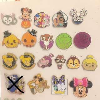 Disney pins 迪士尼襟章徽章