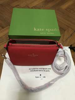 Brand New Authentic Kate Spade New York Sling Bag for Women with Care Card