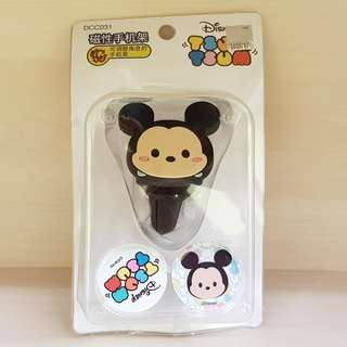 NAPOLEX Disney Tsum Tsum Mickey Mouse Magnetic Mobile Smartphone Holder Air Vent Car Mount