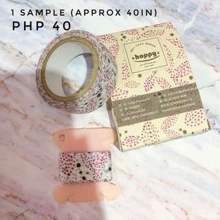 Washi Tapes Samples