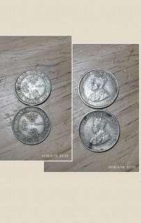 1935年 男人頭 一毫港幣