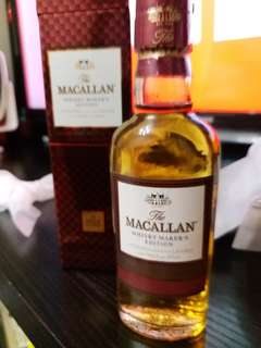 Macallan 酒辦50ml with box 。