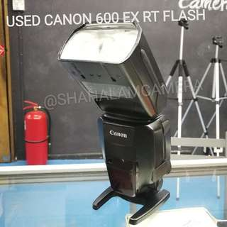 (USED) CANON 600 EX-RT PROFESSIONAL FLASH / SPEEDLIGHT