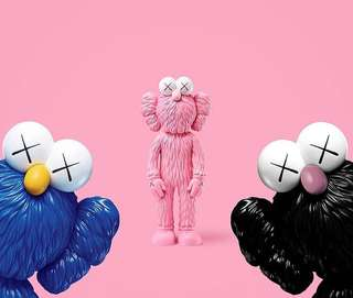 [Limited Edition] Kaws Pink #BFF