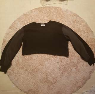 Black street crop top 3 for 100 promo
