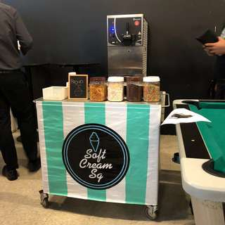 ❤️ Soft Serve ice cream live station from $150/hour*