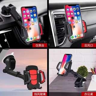 Car Phone Holder Black Colour