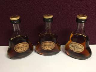 Vintage Unopened Miniature Hennessy XO Liquor for sale