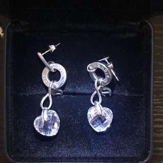 Aigner Crystal Earrings
