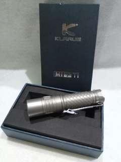Klarus (Mi7Ti) Titanium Limited Led flashlight