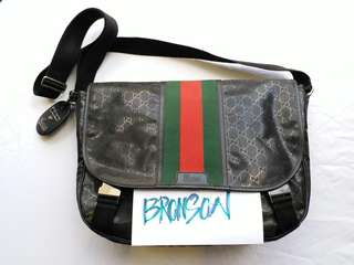 Limited Gucci fiat 500 Large messenger bag
