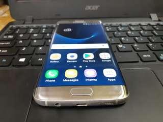 Samsung Galaxy S7 Edge Duos 32GB 4GB Ram Titanium Silver 4G LTE