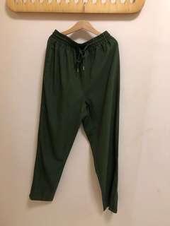 Green Long pants