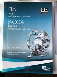 ACCA F1 Textbook