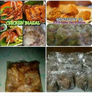 Marinated chicken (inasal and Jollibee) 1kl/pack