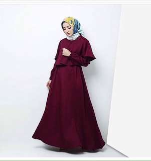ramadhan cape dress