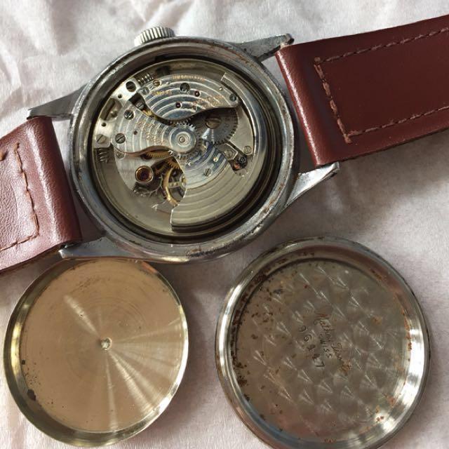 40s Tissot bumper watch