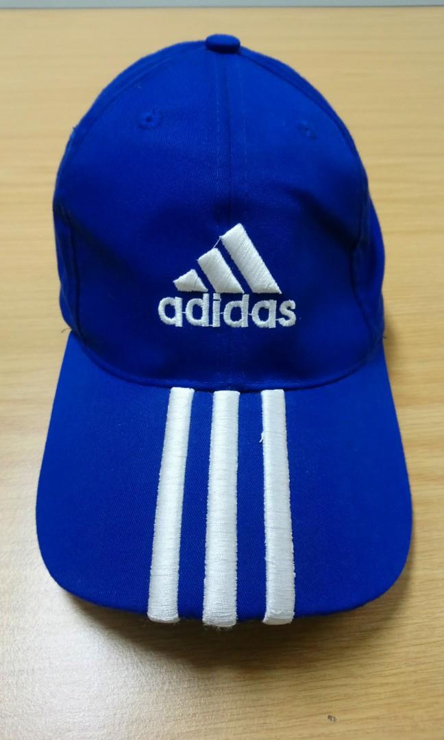 Adidas Cap - Blue with White Strip 5db5abed16eb