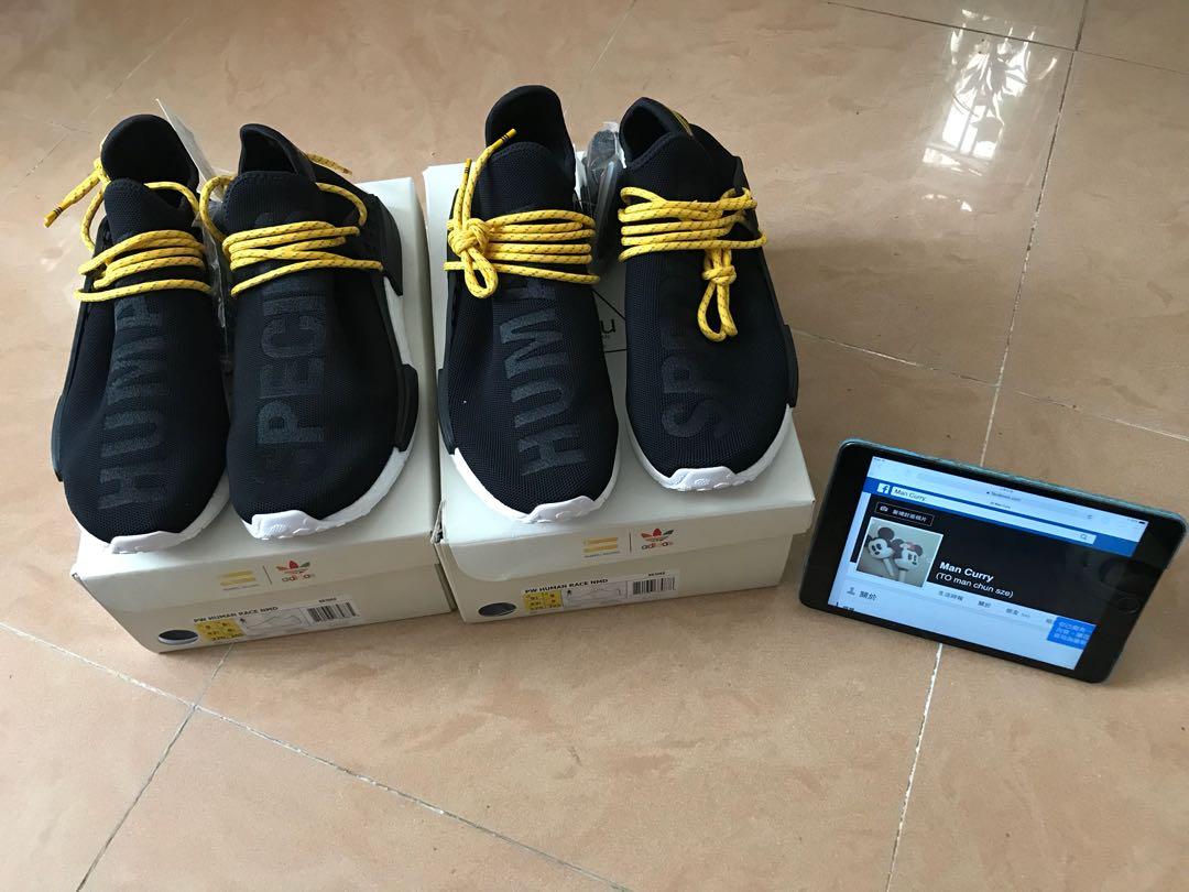 buy popular fe8ad a9c93 Adidas nmd hu human race Black BB3068 Us8.5 / Us9/ Us9.5