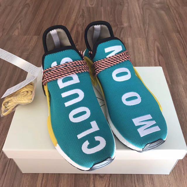 e0058a0a7 Adidas NMD x Pharrell Williams  Sun Glow Cloud Mood  on Carousell