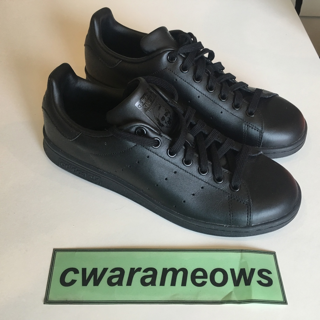 0888043ef Adidas stan smith Black US9 brand new deadstock