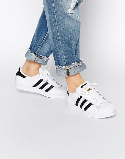 Adidas Superstar Shoes Classic BLACK AND WHITE df5b5c6a2