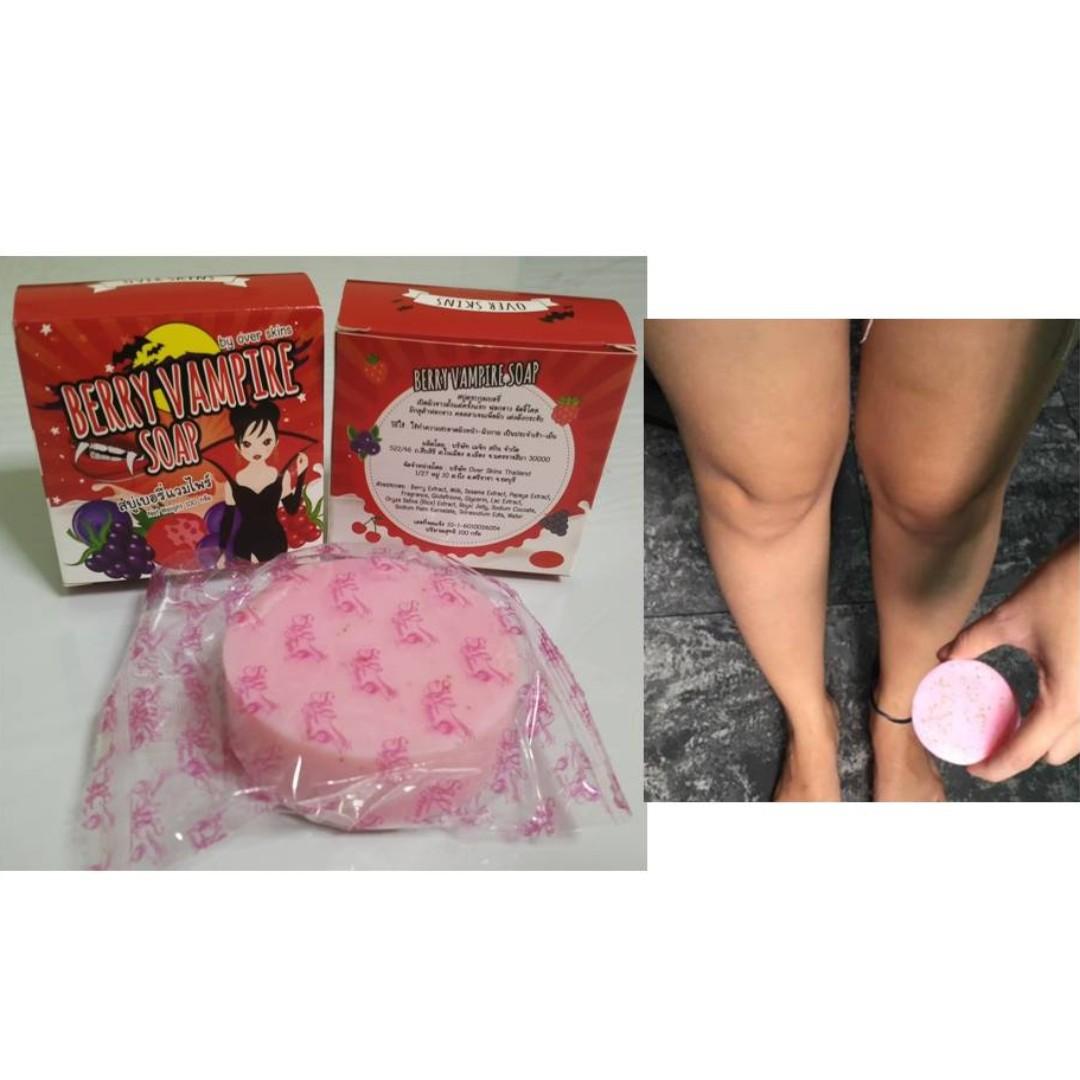 Vampire Soap 100 Original Thai Update Harga Terkini Dan Terlengkap Whitening By Benny Sabun Bpom Berry For Effect Health Beauty Bath Body