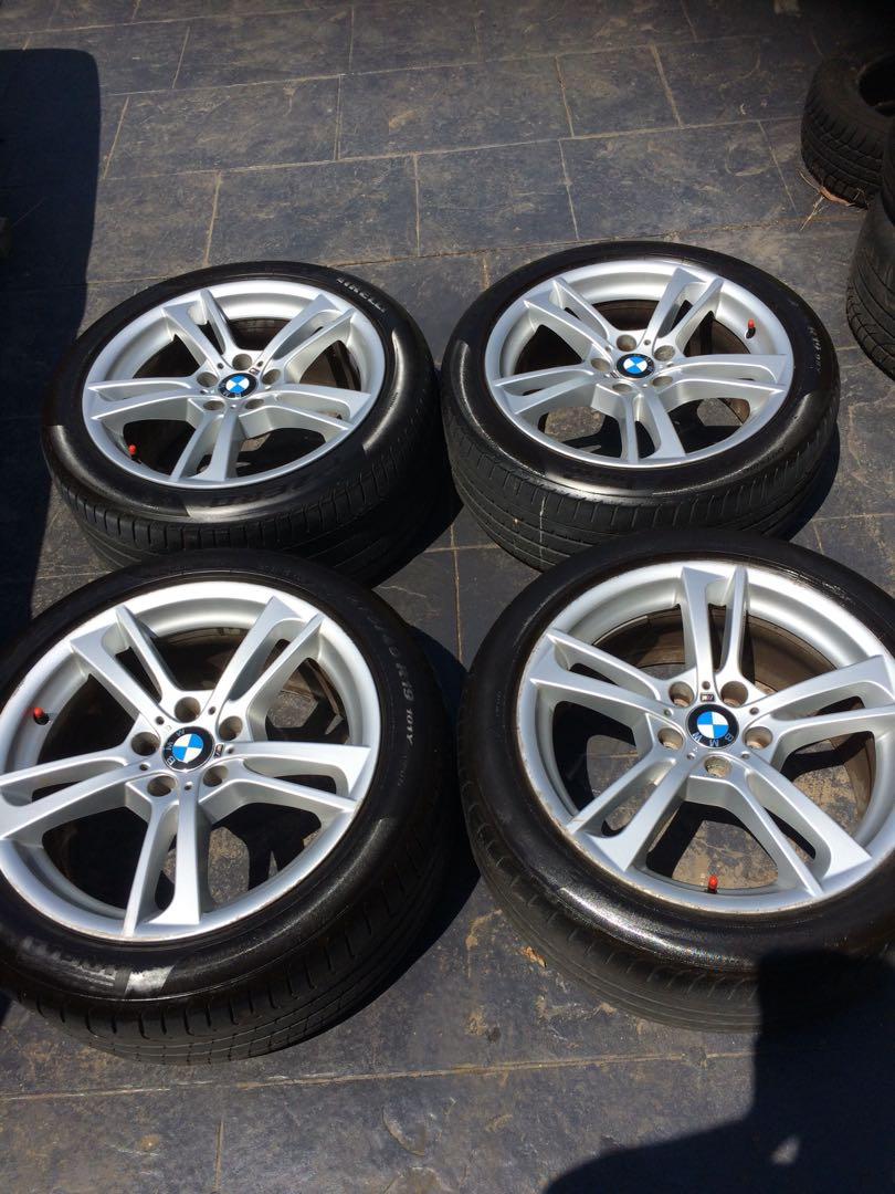 Bmw X3 M Sport 19 Wheels With Tyres Auto Accessories Others On