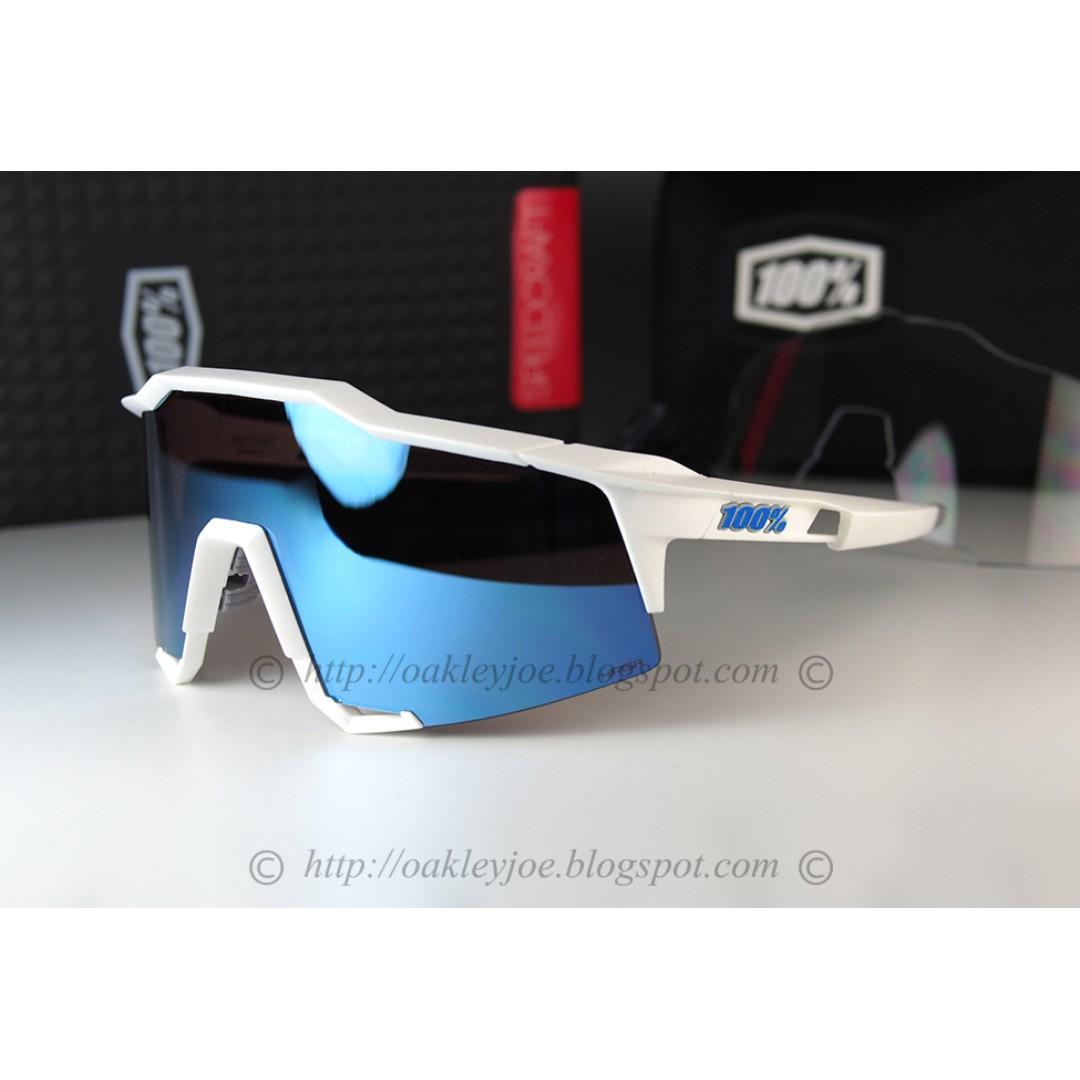 75339dd60ae BNIB 100% Percent Speedcraft SL Ride Peter Sagan matte white + hiper ...