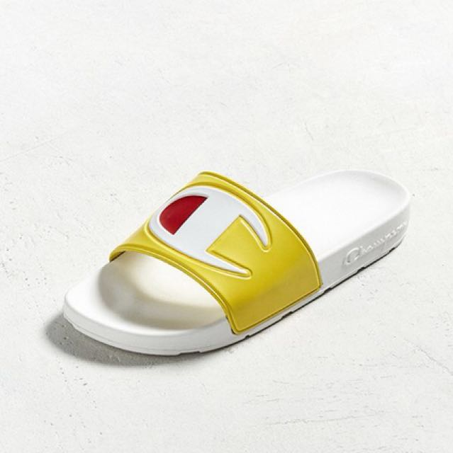 2a72fee412e Champion Big C Logo Slide Sandals
