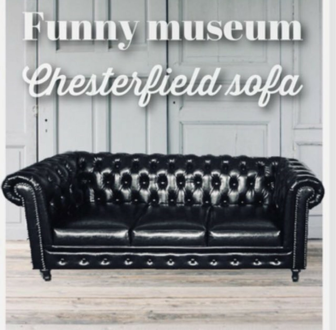 Chesterfield Sofa Bold Black Furniture Sofas On Carousell