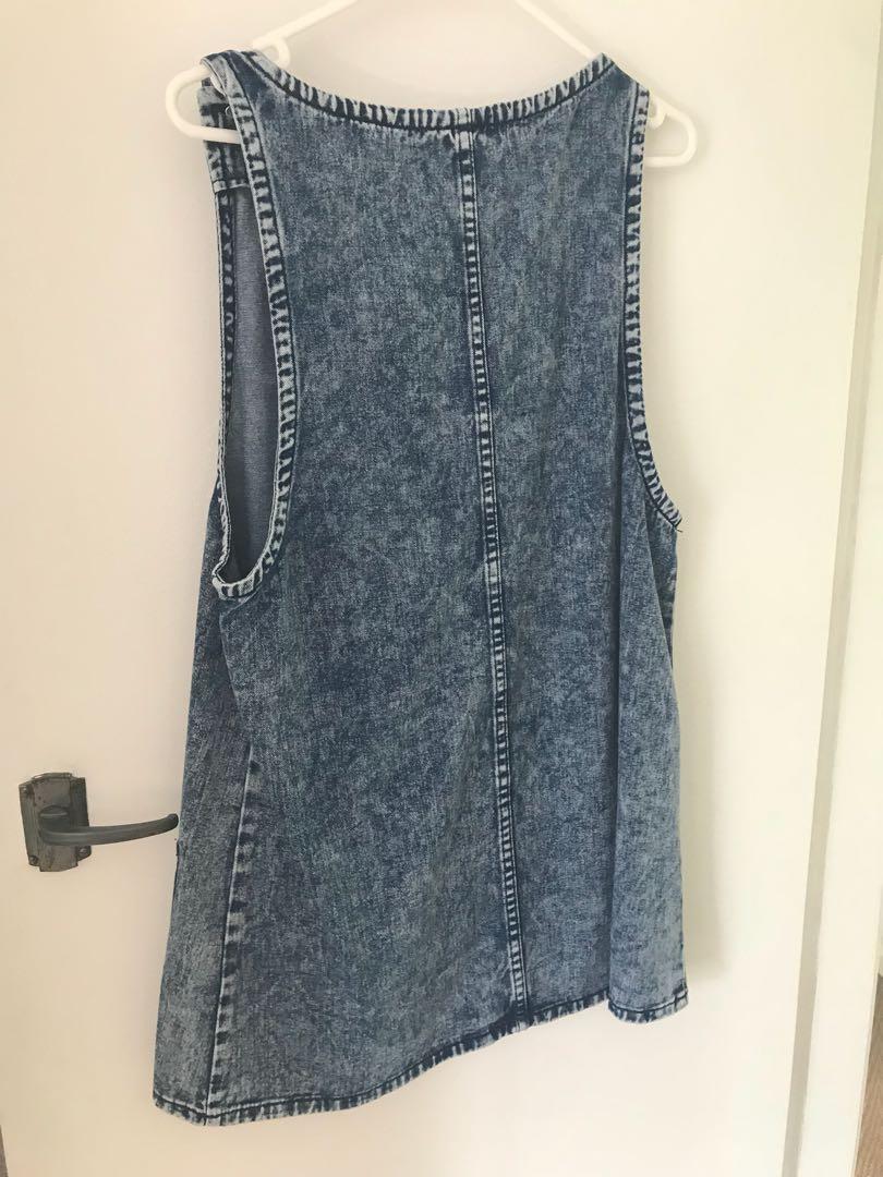 Denim dress size 8-10