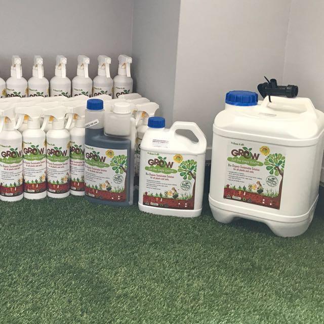 GROW- Organic Liquid Fertilizer, Gardening on Carousell