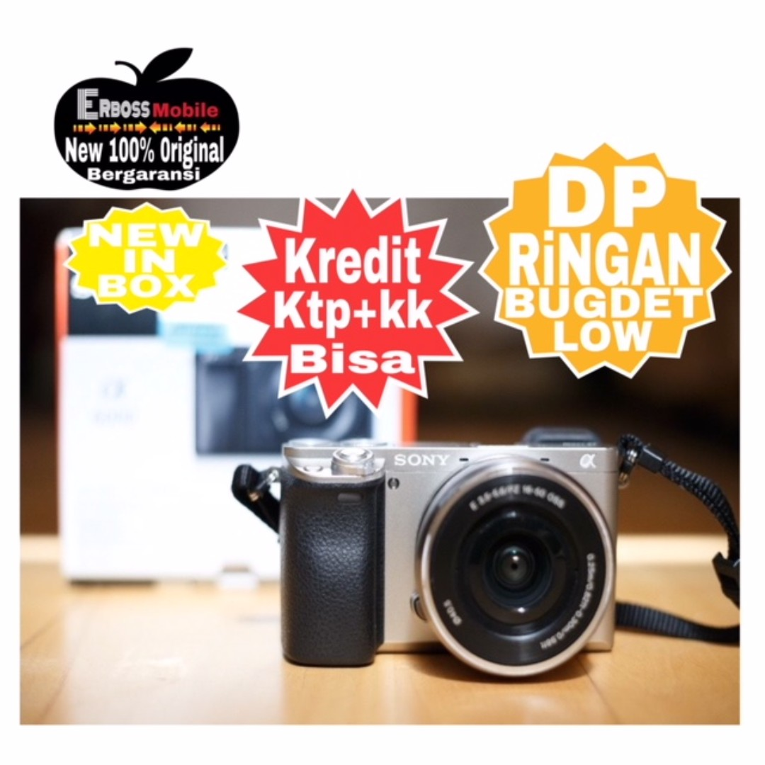 Kredit Low Dp 900rb Sony Alpha A6000 Kit 16 50mm Ditoko Ktp Kk Wa Lensa Copotan Photo
