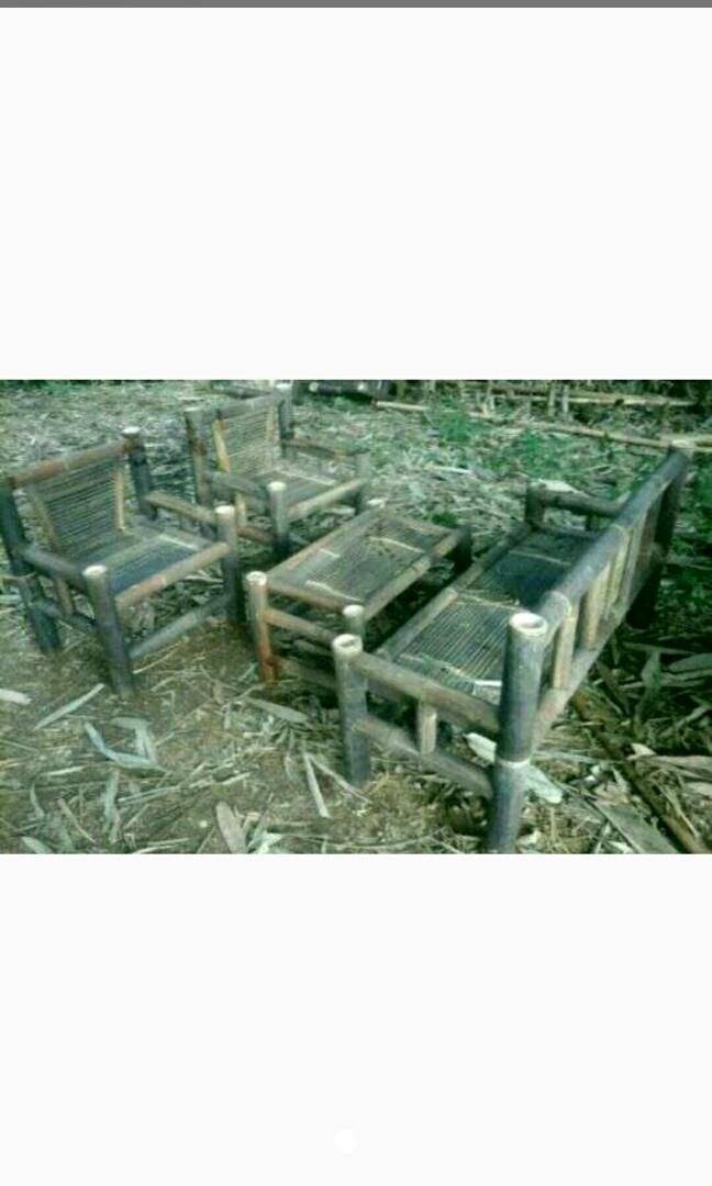 680 Koleksi Model Kursi Tamu Bambu Terbaik
