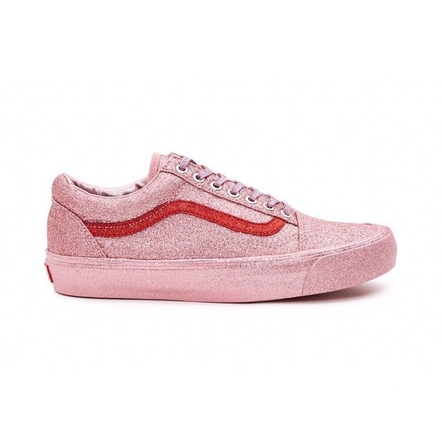 LF   Vans x Opening Ceremony Pink Red Glitter Vans 5e55499f6