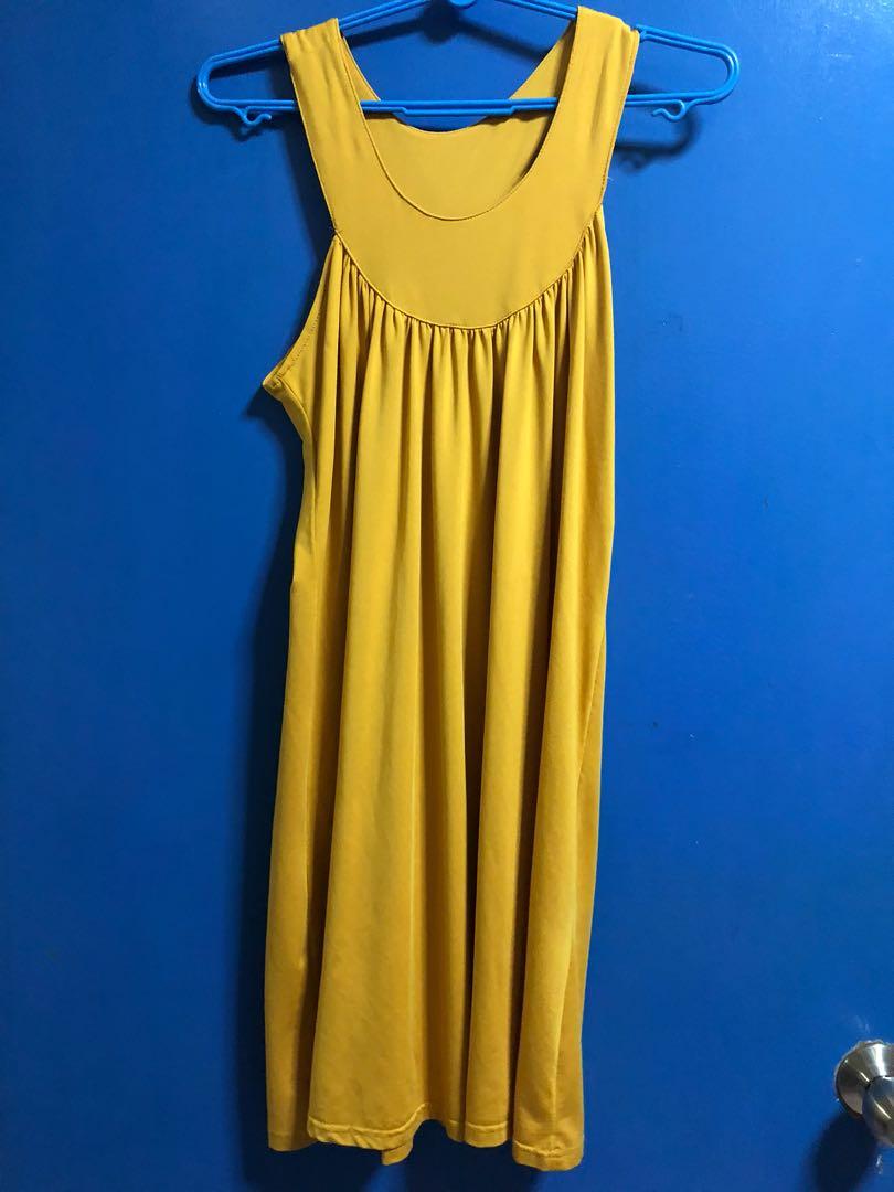 83782f7203 Love and Bravery mustard dress