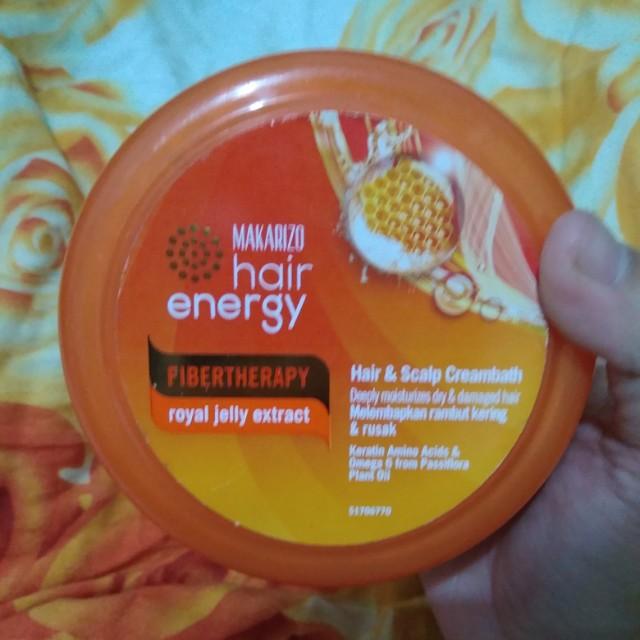 ... Scalp Source · Makarizo Hair Energy Fibertherapy Royal Jelly Extract Health & Beauty Hair Care on Carousell