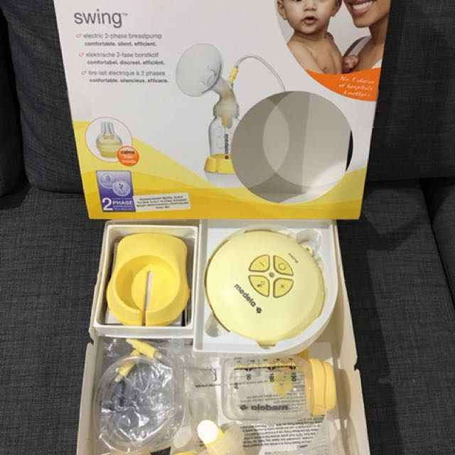 single electric breast pump for every day use Medela Swing breast pump