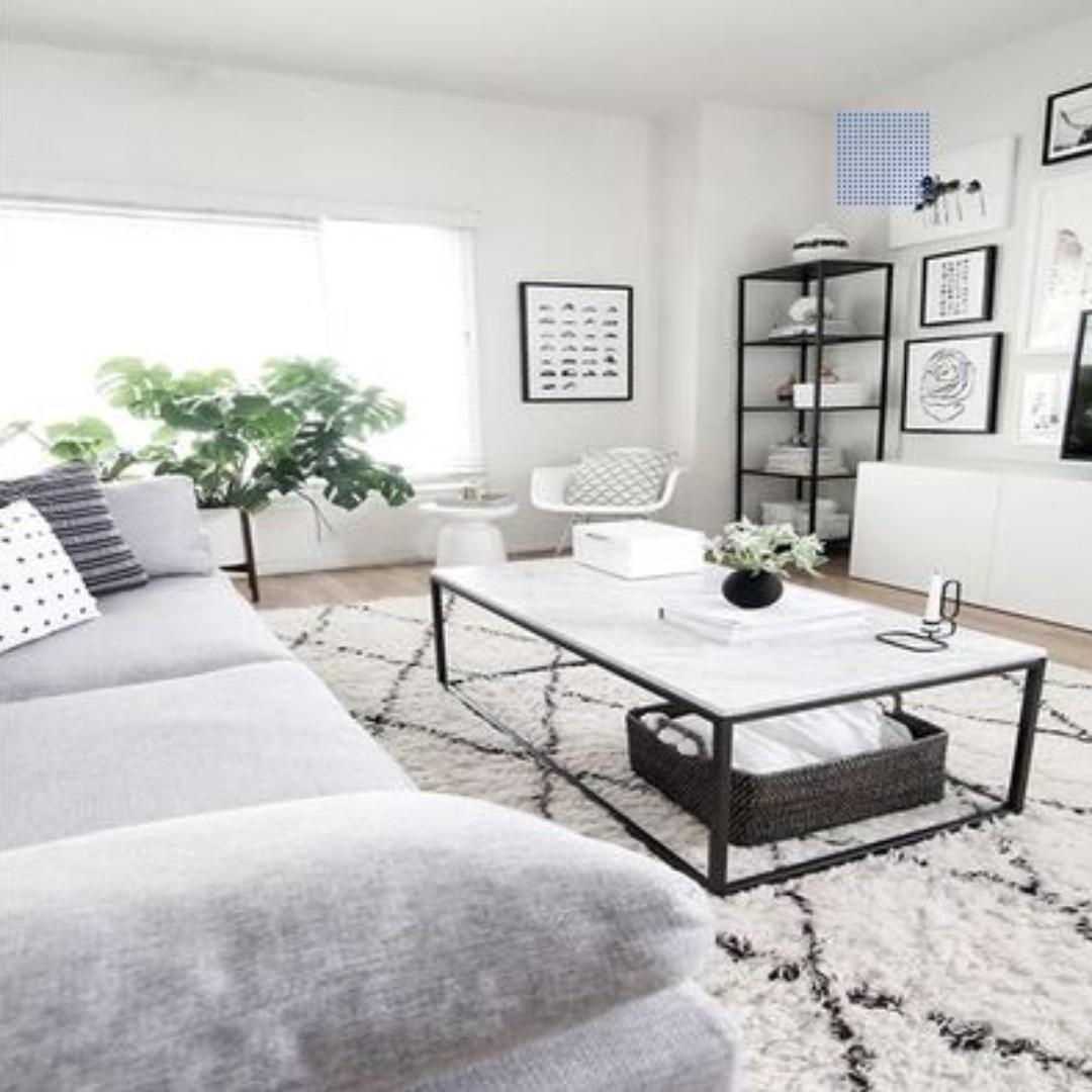 Minimalist Scandinavian Living Room Coffee Table Furniture