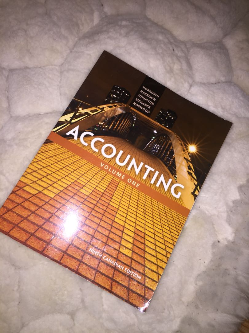 new accounting textbook