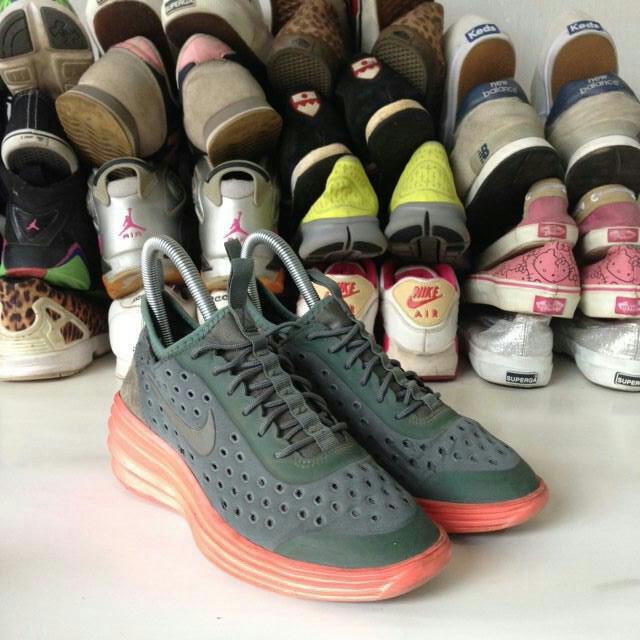 Nike Womens Lunarelite Sky Hi Wedges Preloved Fesyen Pria Sepatu