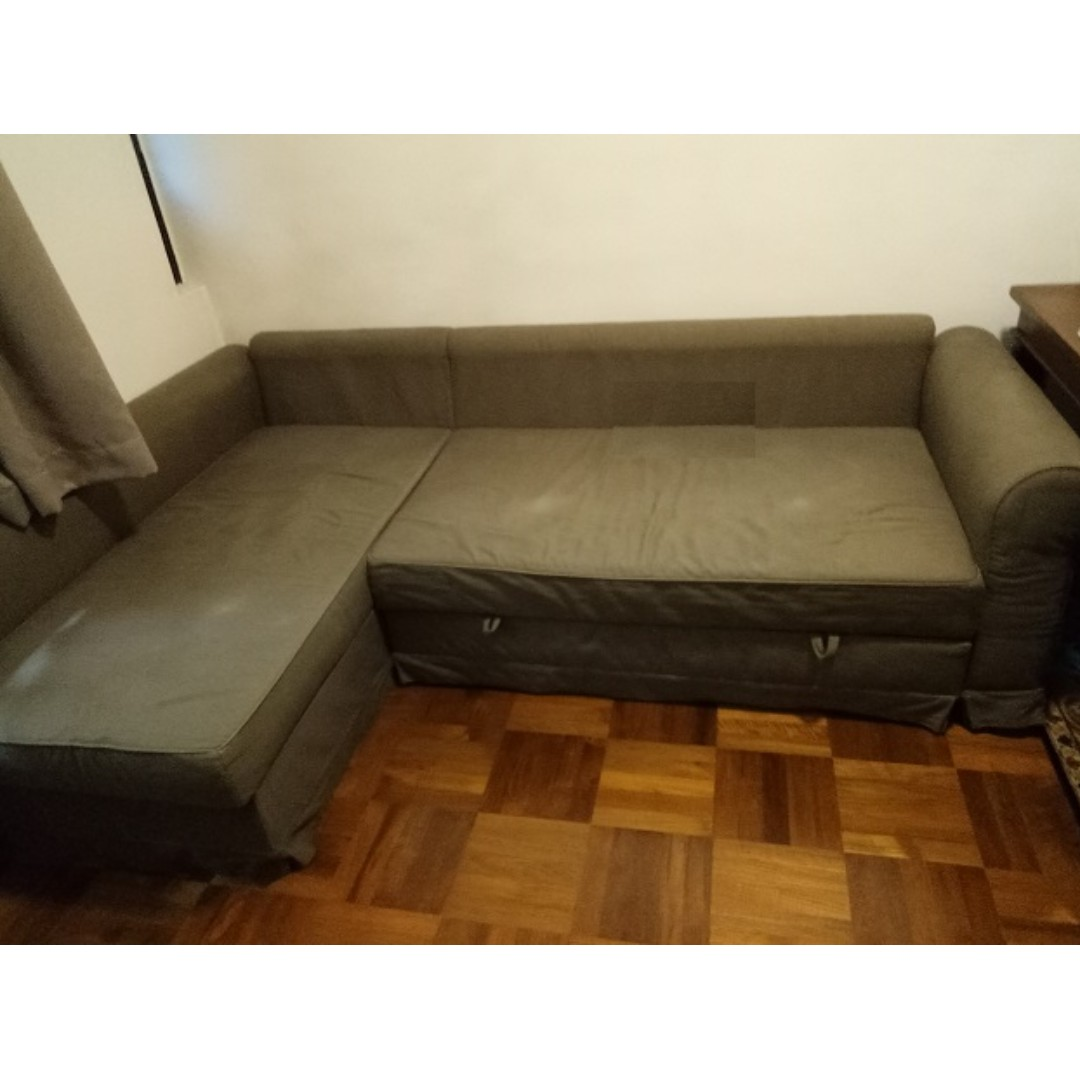 Offer Ikea Sofa Storage Bed 300 Delivery Installation Furniture
