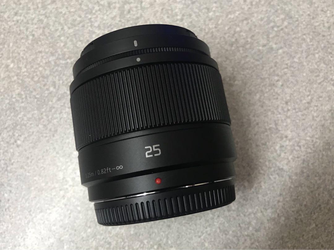 Panasonic Lumix G 25mm F17 Lens Kamera Di Carousell Dmc Gf2 Kit 14 42mm Paket Kongsi Senarai Ini