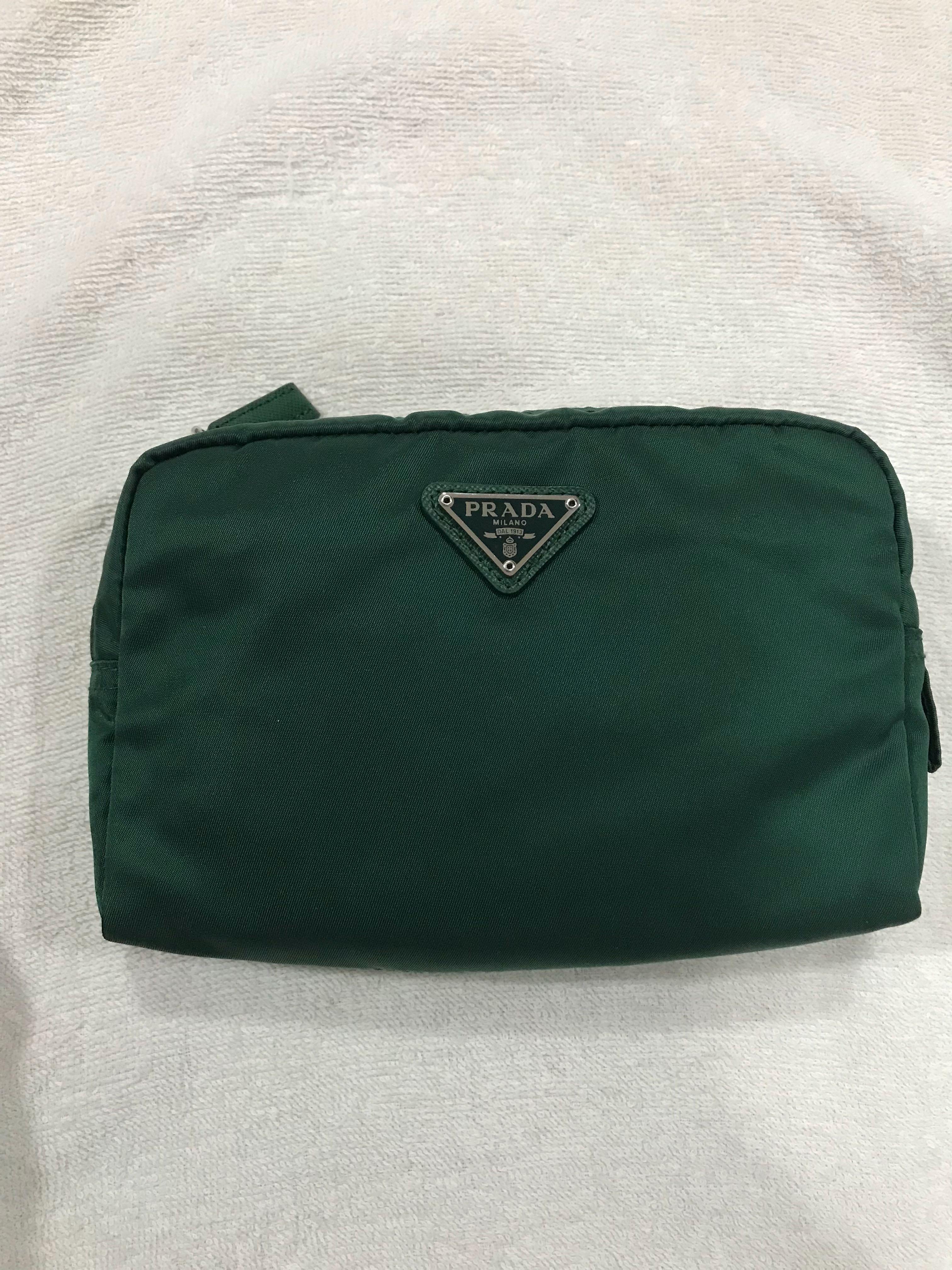85f7aa981d92 ... australia prada nylon cosmetic pouch womens fashion bags wallets on  carousell 3025d 3690b ...