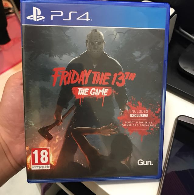 PS4 黑色星期五 Friday the 13th THE GAME