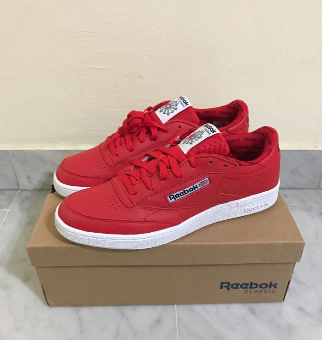 8379c965330 Reebok club C 85SO US10, Men's Fashion, Footwear, Sneakers on Carousell