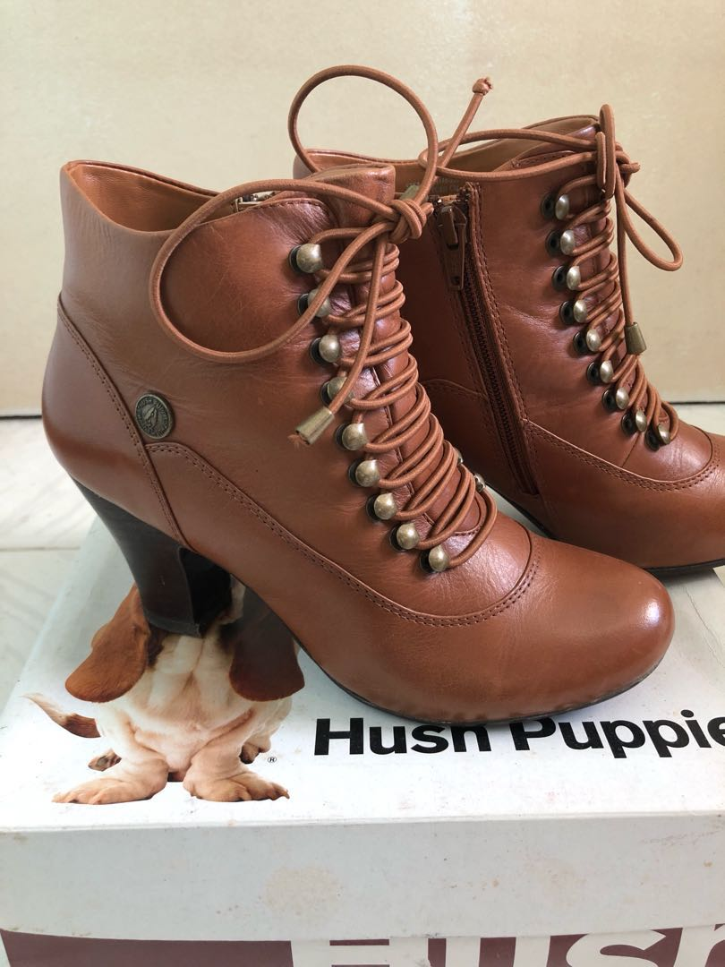 hot new products well known 100% quality S7 Hush Puppies Victorian Boots Brown on Carousell
