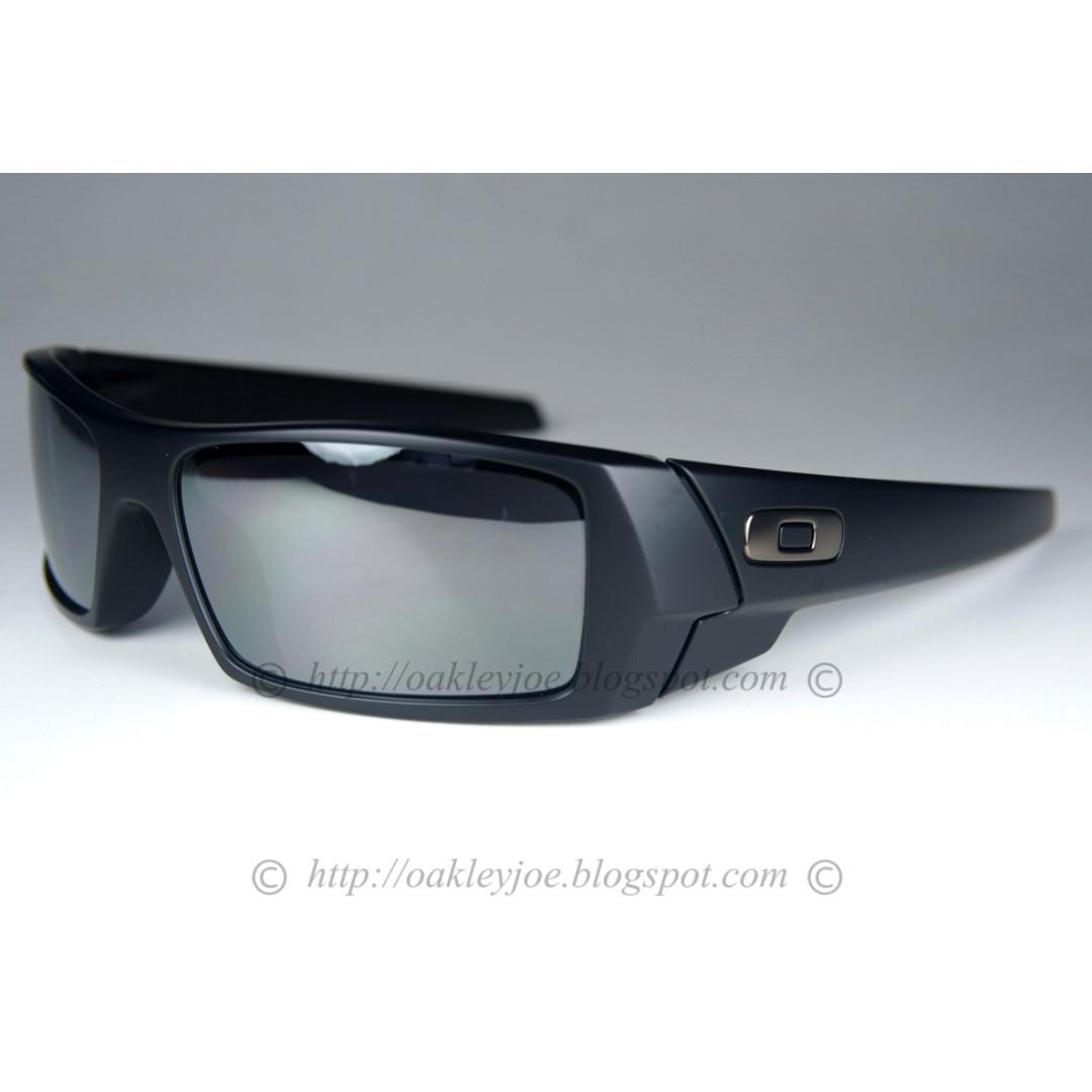 SALE Brand New Oakley Gascan matte black + black iridium 24-435 ... 9ad7457fef